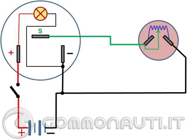 Schema Elettrico Galleggiante Serbatoio : Collegamento elettrico galleggiante serbatoio carburante