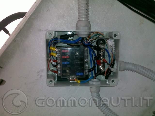 Schema Elettrico Per Gommone : Rifare l impianto elettrico pag