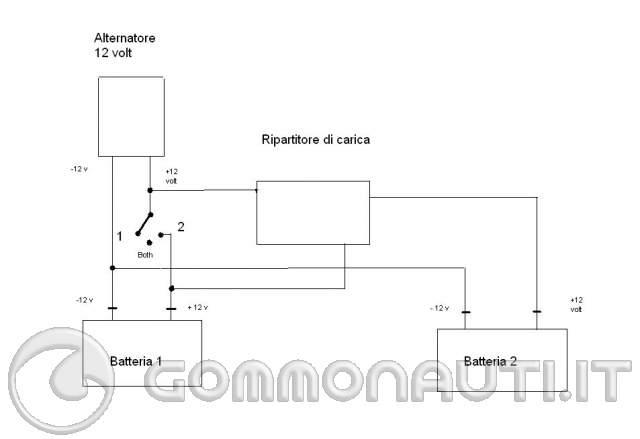 Schema Elettrico Ripartitore Di Carica : Schema elettrico ripartitore di carica fare una mosca