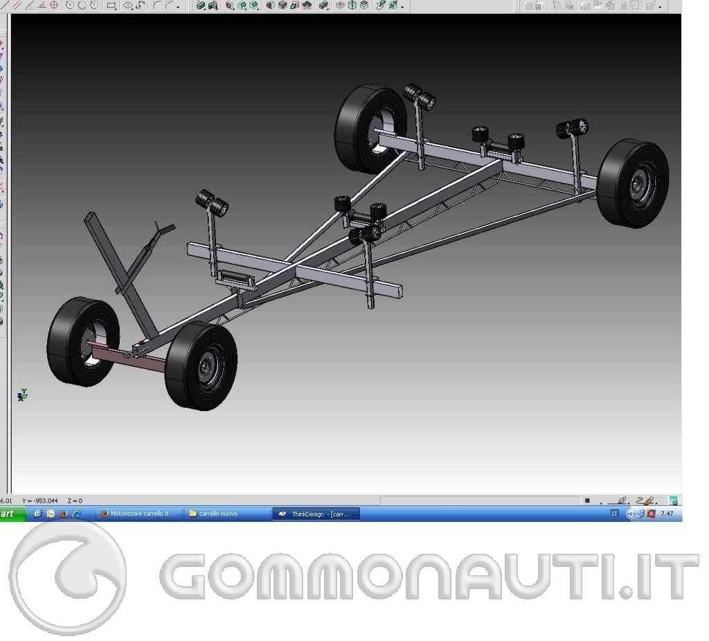 re: Motorizzare carrello di alaggio , nuova idea