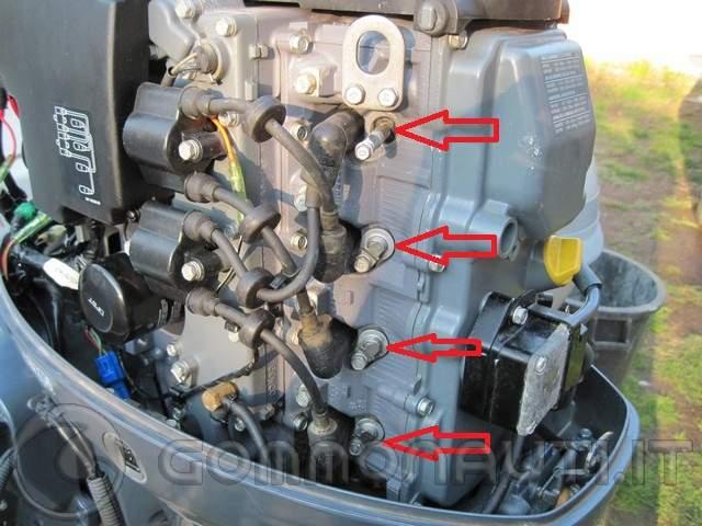 Manutenzione ordinaria Yamaha 40cv 4t CETL 996cc