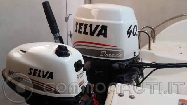 Permuta Selva Dorado xs 40 cv con motore più grande