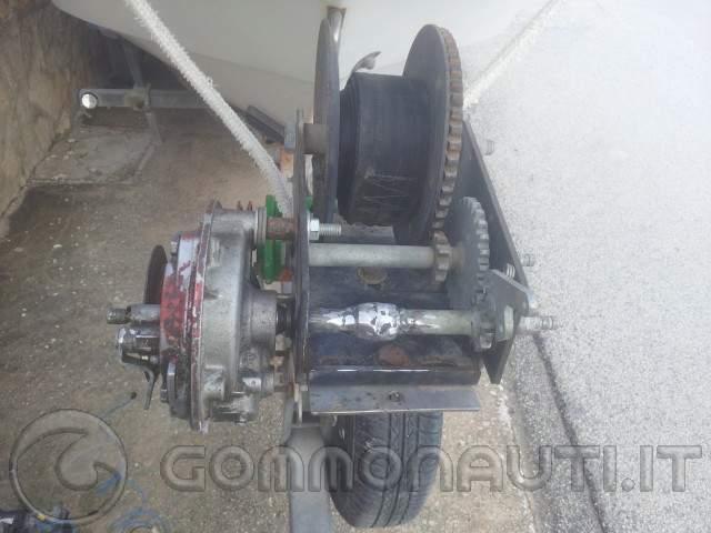 Schema Elettrico Per Verricello : Verricello elettrico autocostruito