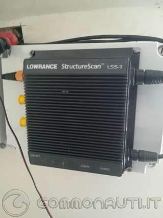 Lss1 modulo Structure Scan lowrance