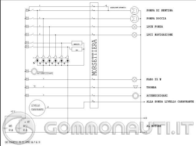 Schema Elettrico Trattore : Problemi impianto elettrico pag