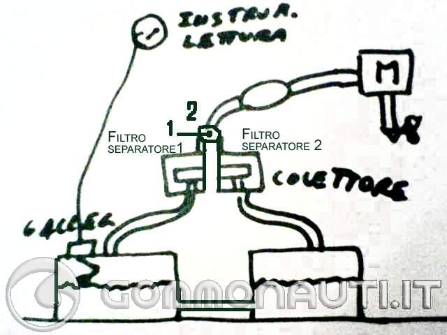 Schema Elettrico Galleggiante Serbatoio : Diverso collegamento degli indicatori carburante doppio