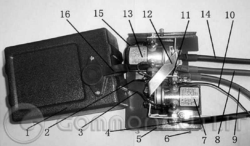 Schema Elettrico Per Verricello : Schema verricello idraulico fare di una mosca