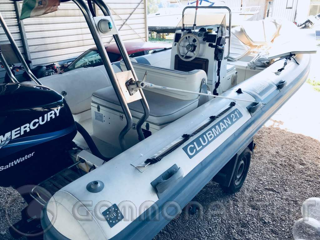 Vendo Gommone Clubman 21 con Mercury optimax 115 cv e carrello