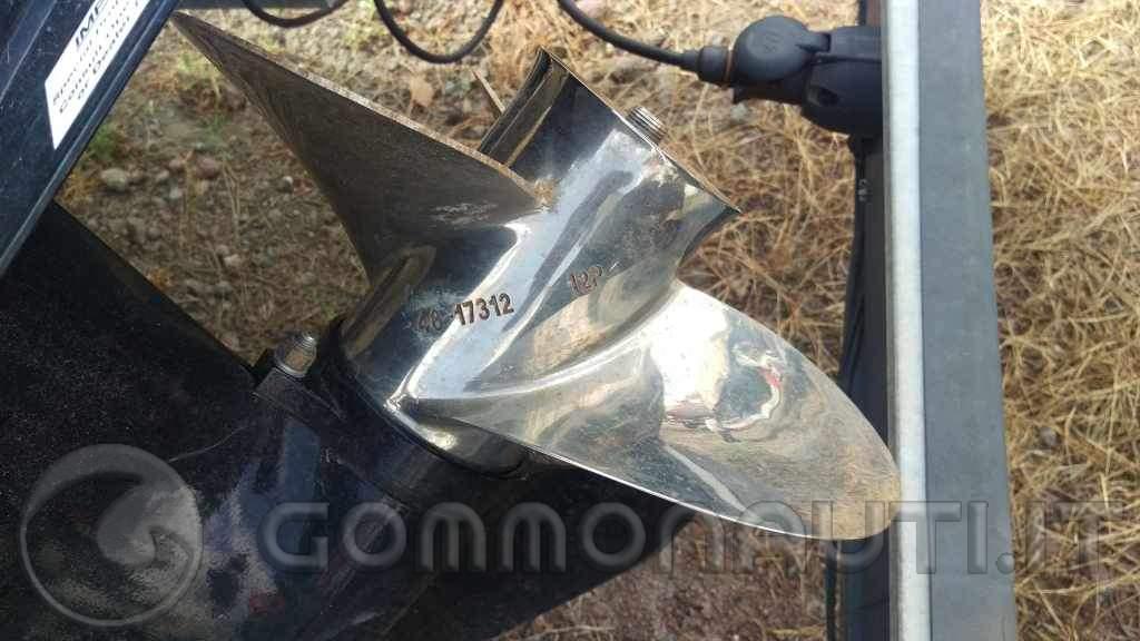 Scambio elica acciaio inox mercury pro
