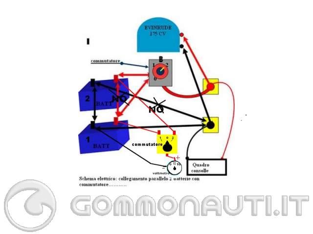Schema Elettrico Per Deviatore : Schema deviatore batterie fare di una mosca