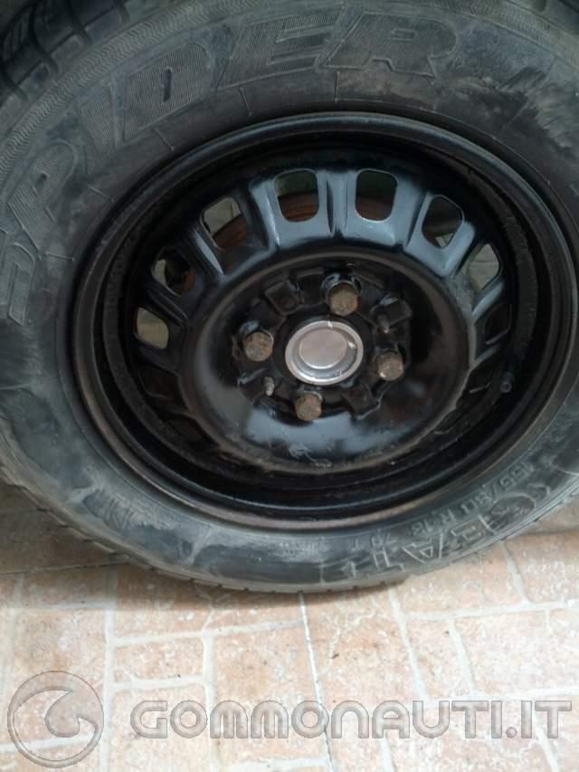 Sostituzione mozzi del carrello Reggiana RBb13 con mozzi posteriori panda 30