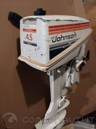 vendo motore Johnson J5RL 4,5