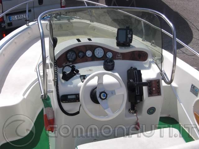 re: Vendo Motoscafo Tamare open 590 full optional con Honda bf 90 cv 4t
