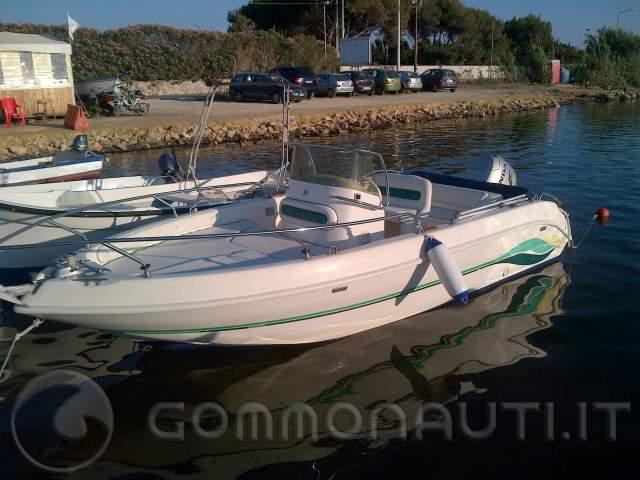 Vendo Motoscafo Tamare open 590 full optional con Honda bf 90 cv 4t
