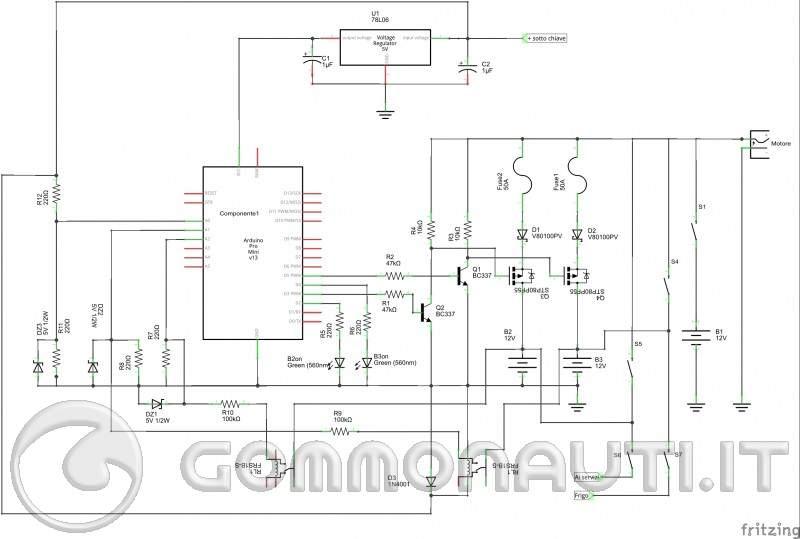 re: Isolatore di carica Batteria dei servizi o seconda batteria