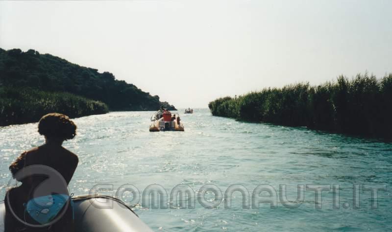 Navigazione fiume acheronte.