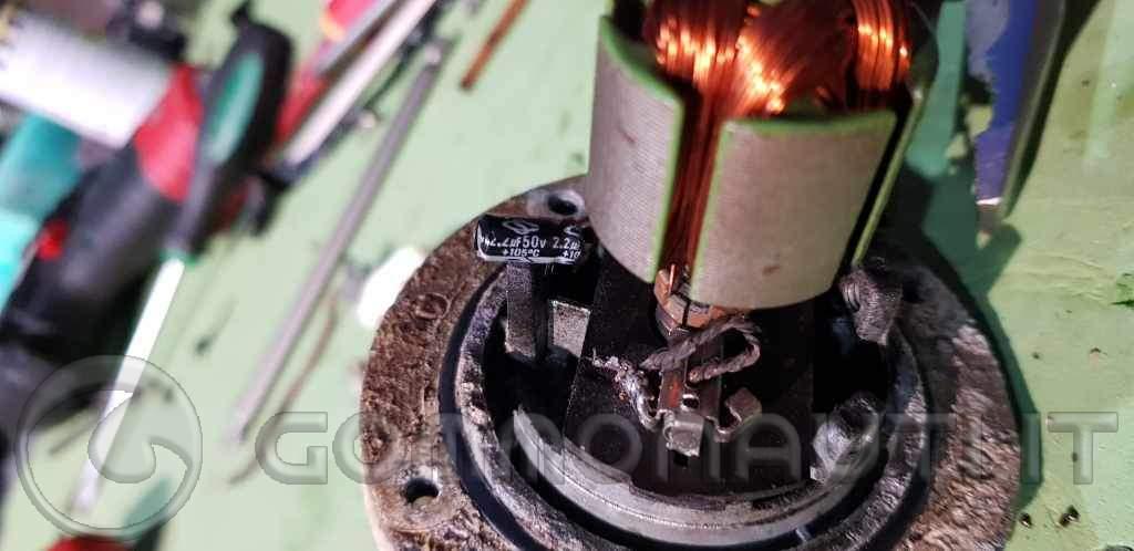 re: Salpa GS 525,  verniciata male, cosa fare?