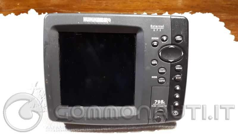 Humminbird 798c Eco plotter gps side sonar