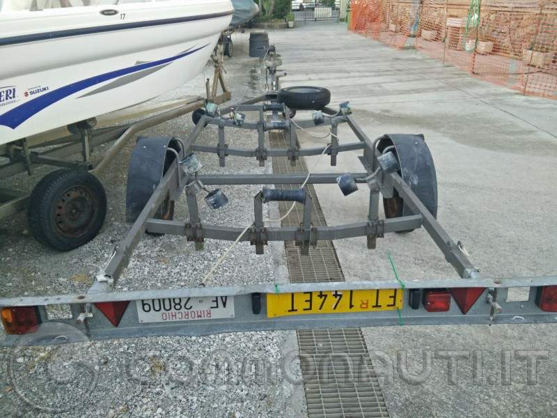carrello 750kg sfrenato del 2007 (MS)