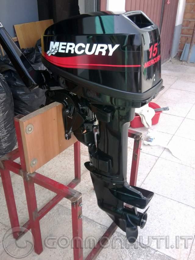 motore mercury 15 cv 2t gambo corto occasionissima