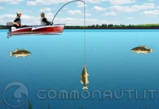 Russo che pesca in 3.1 torrente e klevalka