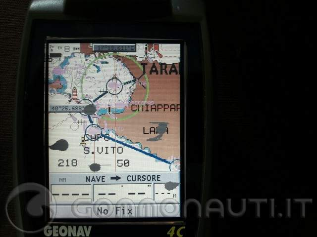 vendo gps Geonav 4C con cartografia navionics gold xl 33 cf
