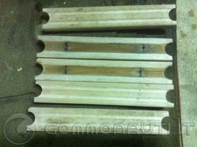 Verniciare gradini in legno della scala di risalita for Verniciare legno