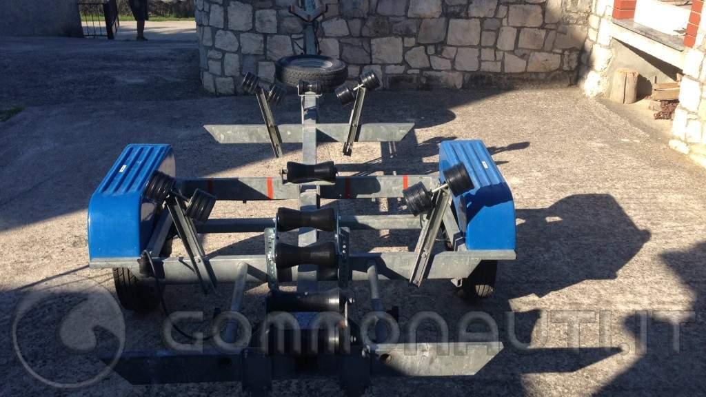 Gommone stilmar sm 44 + suzuki DF40/50+ carrello
