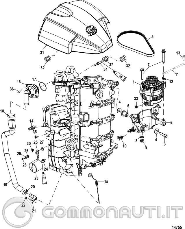 zincherei interni motore mercury 115efi  pag  2