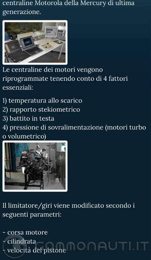 re: Northstar 190cc e motore...dei desideri