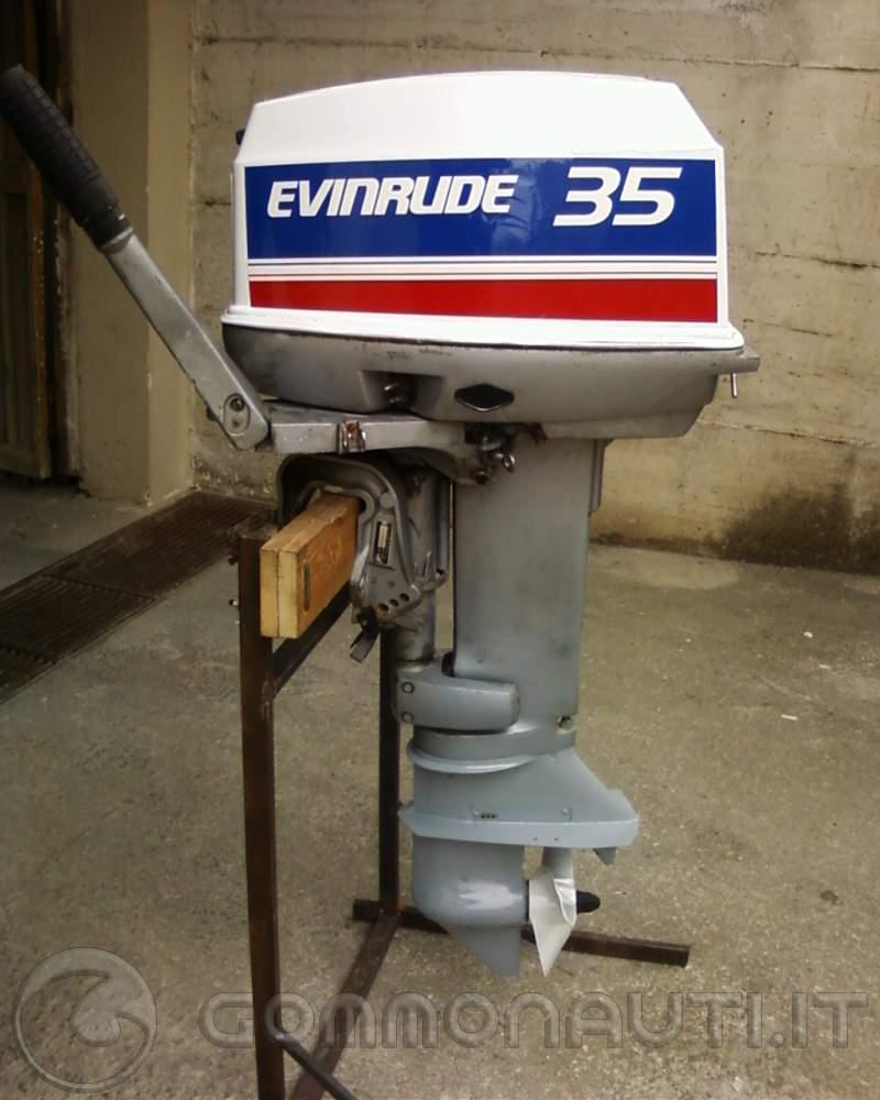 Evinrude 20 hp (vecchio 521 cc anni 80) -miglioramento-