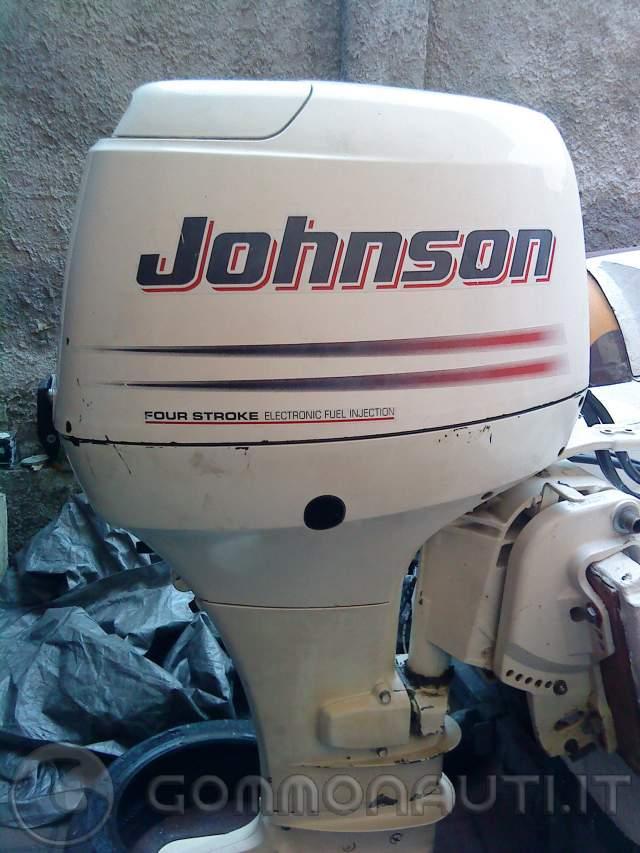 Motore Fuoribordo Johnson J40 a 4 tempi e 40 cavalli (Suzuki DF40 rimarchiato)
