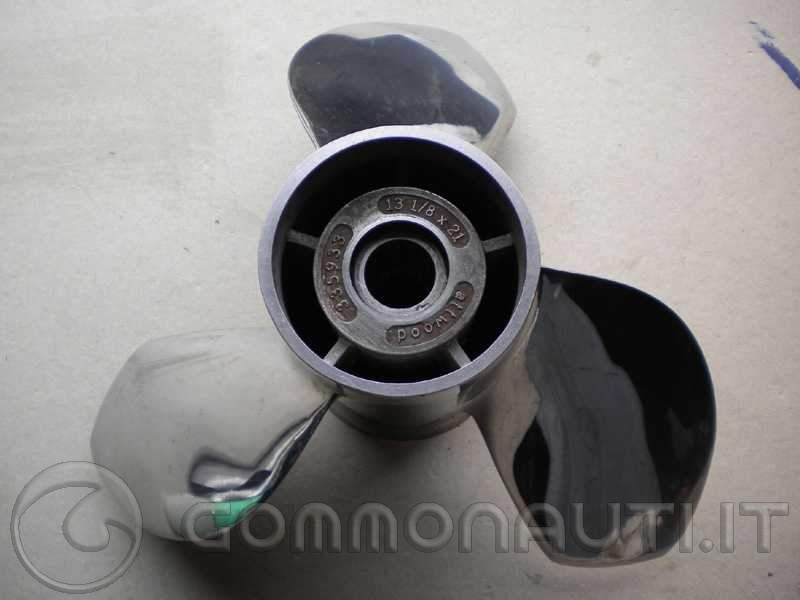 Elica acciaio Ballistic 3 x 13-1/8 x 21
