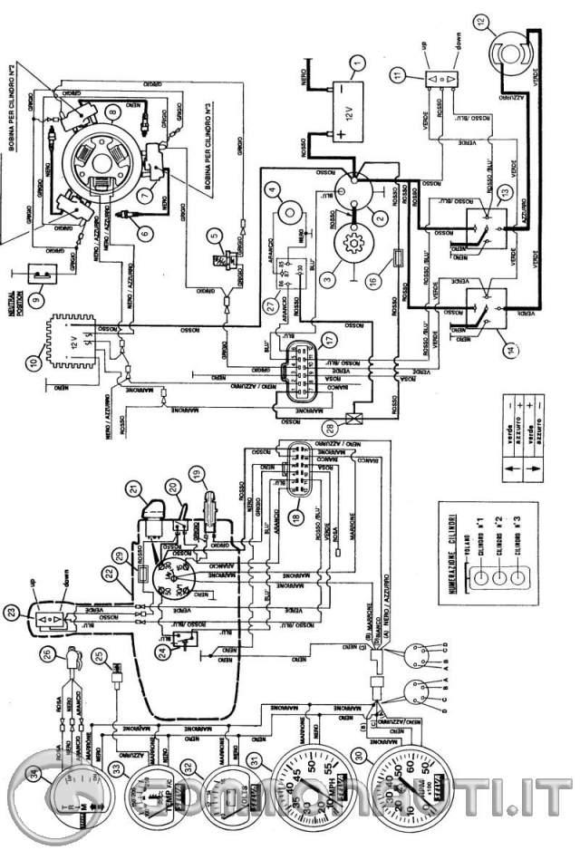 Schema Elettrico Johnson 737 : Spinotti johnson anno