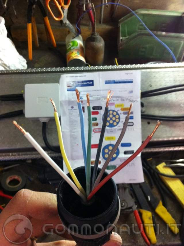 Schema Elettrico Per Carrello Appendice : Carrello umbra rimorchi restyling barra luci e aggiornamento