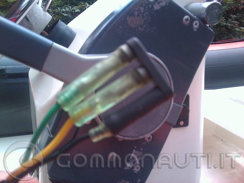 Schema Elettrico Yamaha Autolube : Contagiri yamaha xwl t collegamento