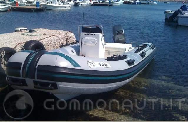 Acquisto gommone usato mariner con magnum4 25 50cv for Acquisto acquario usato