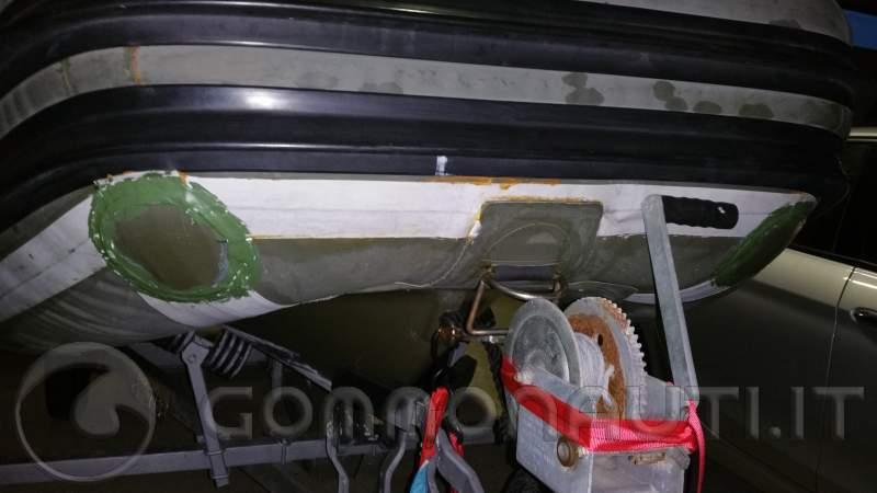 Gommone novamarine rh430 da sistemare