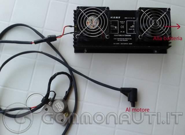 Schema Elettrico Evinrude 521 : Collegamento elettrico motore batteria evinrude