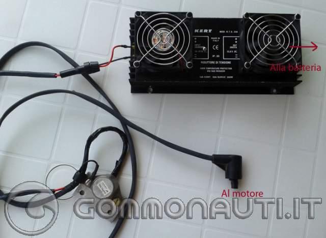 Cavo carica batteria per Evinrude-Johnson 521