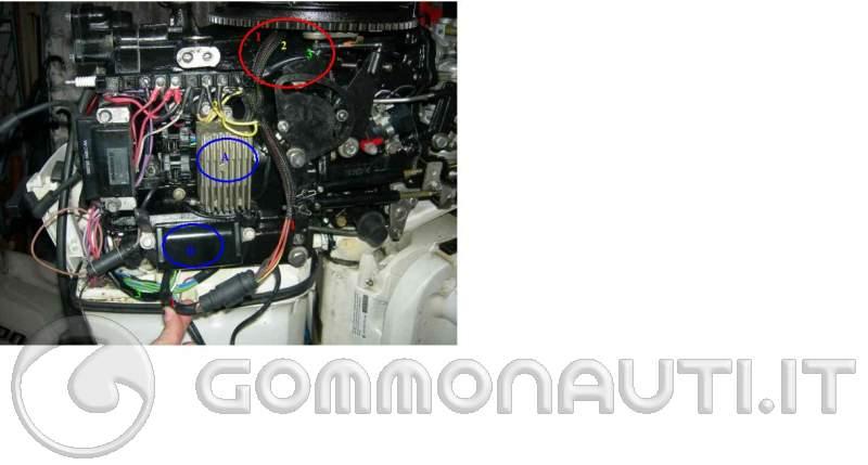 Schema Elettrico Evinrude 521 : Motore johnson affondato sos ricerca componente