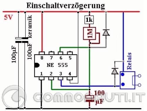 Schema Elettrico Per Temporizzatore : Schema elettrico timer ciclico fare di una mosca