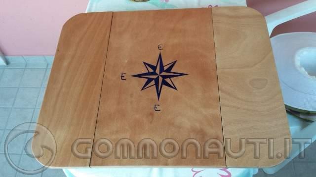 Tavoli Pieghevoli Da Barca.Costruzione Tavolino Pieghevole