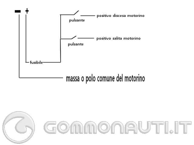 Schema Elettrico Pulsante Alzacristalli : Circuito elettrico per affondatore autocostruito