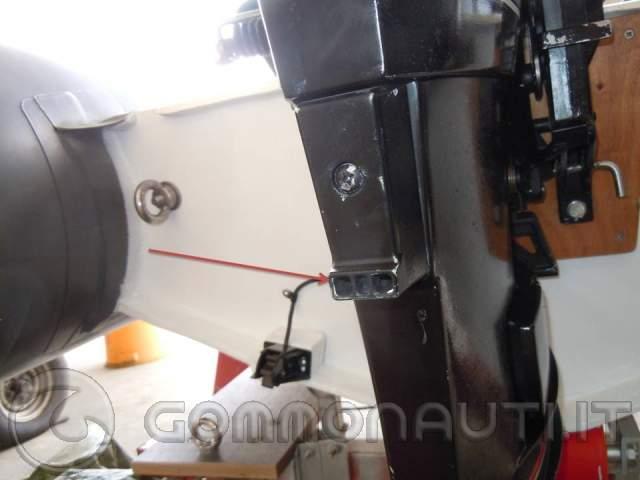 Impianto di raffreddamento mercury america 25 cv for Tubo di scarico del riscaldatore dell acqua