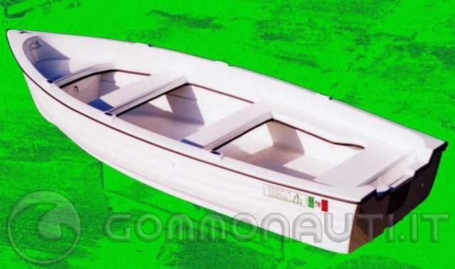 Barca lancia 3 60 x 1 35 metri doppio scafo autosvuotante for Barchetta da pesca