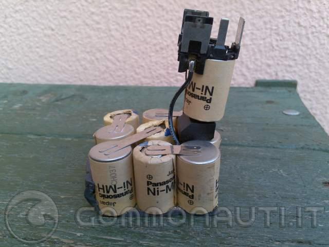 rigenerare batterie avvitatore