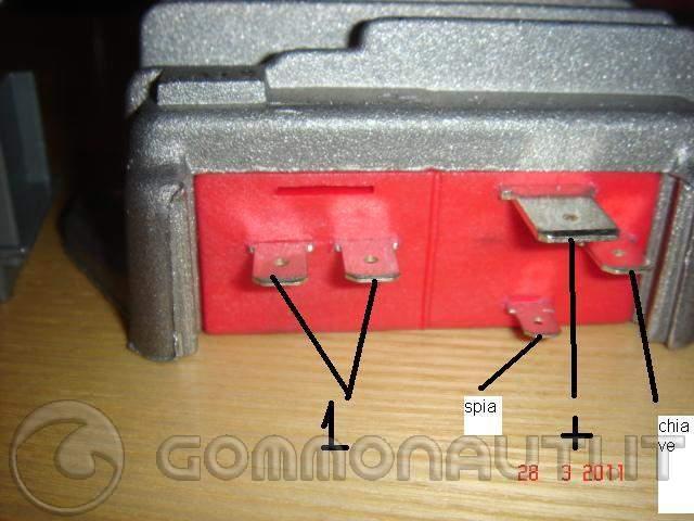 Schema elettrico lombardini