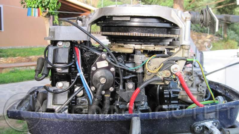 Schema Elettrico Evinrude 521 : Evinrude con regolatore motocoltivatore pag