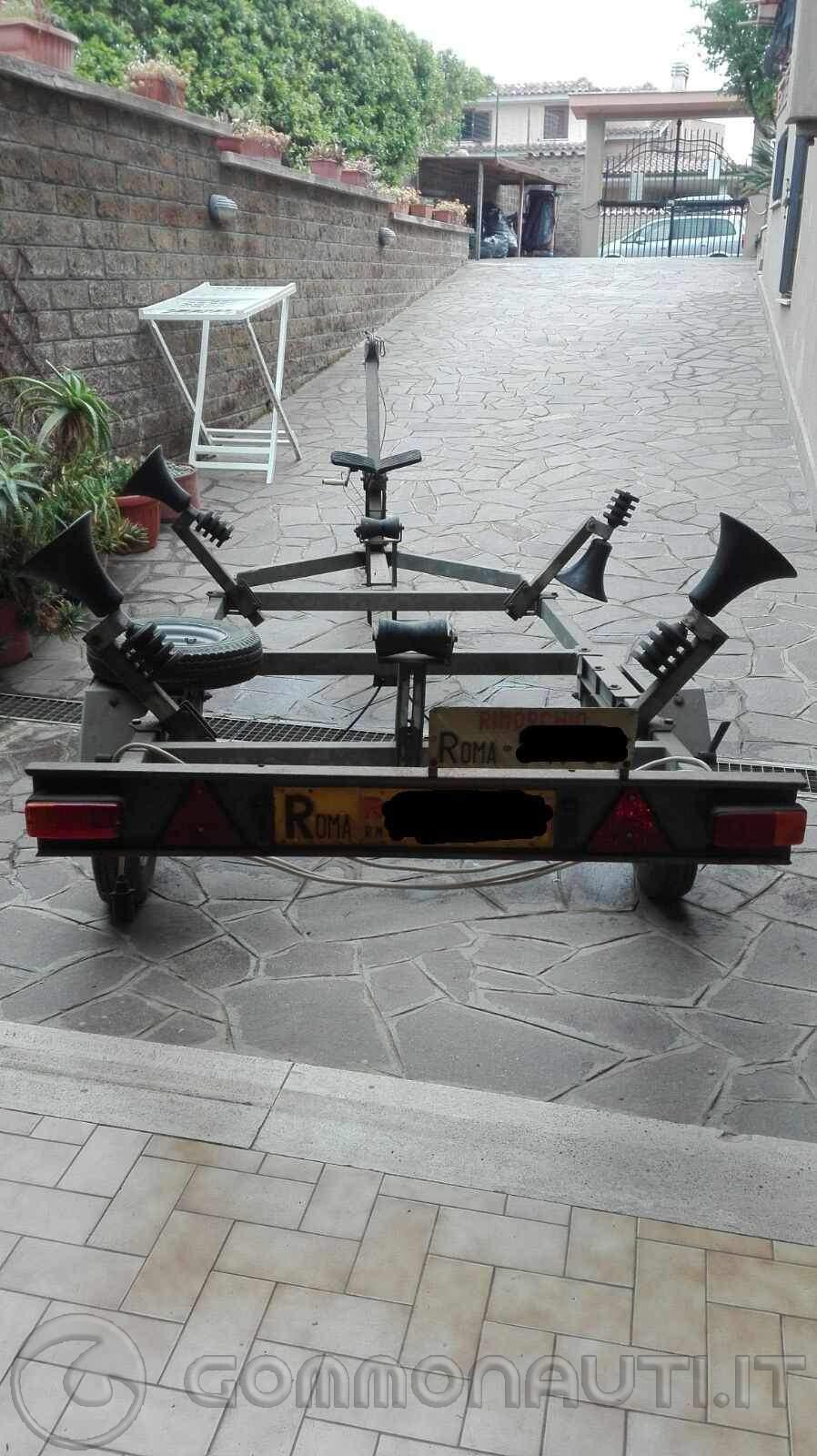 Vendo carrello Plini e Gigliotti 4,75 metri.